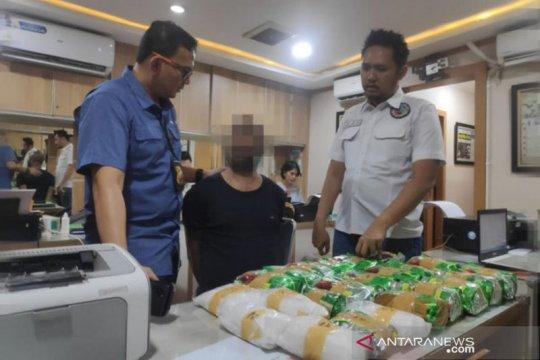 Puluhan kilo sabu ditemukan di pusat belanja