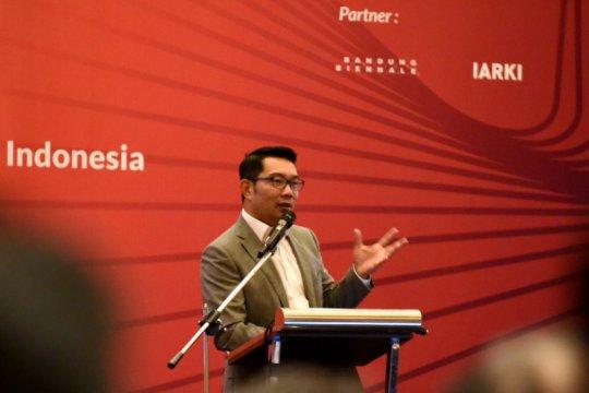 Ridwan Kamil enggan bahas Capres 2024 versi Nasdem
