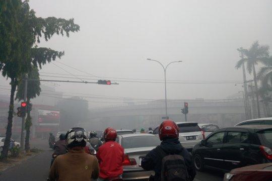 BMKG: Warga kota Pelambang agar tetap waspada asap pascahujan