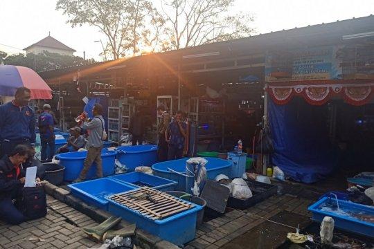 Transaksi di Pasar Ikan Hias Jatinegara dibuat dua sesi
