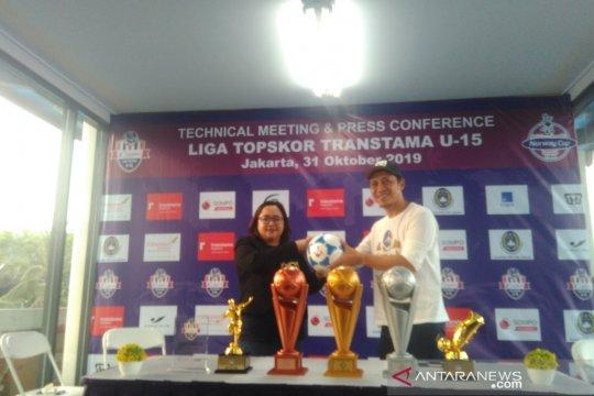 Liga Topskor Transtama U-15 2019/2020 akan diikuti 24 tim