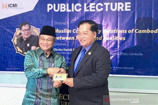 Kamboja jajaki kerja sama dengan Universitas Al-Azhar Indonesia