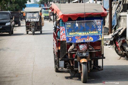 Pemprov DKI Jakarta larang odong-odong beroperasi