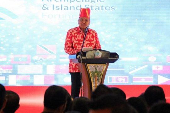 Gubernur: Forum negara pulau-kepulauan angkat isu strategis global