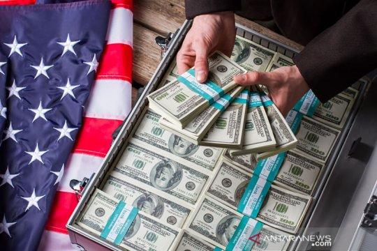 Dolar AS jatuh di tengah kenaikan euro