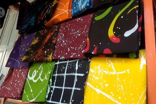 Batik Ciprat karya penyandang disabilitas yang laku di pasaran