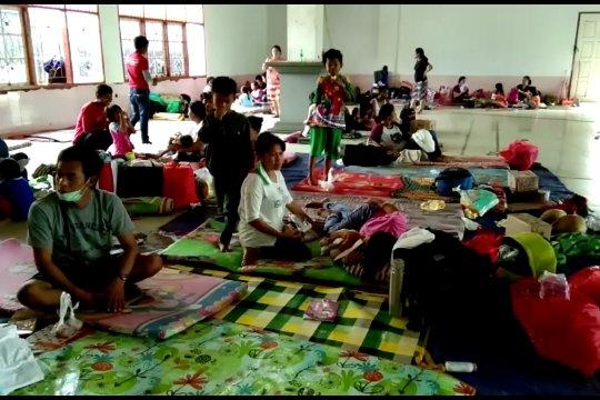 Lebih dari dua ribu pengungsi Wamena asal Toraja pulang kampung