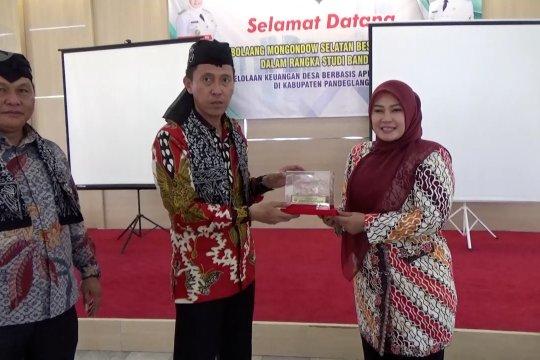 Pemkab Bolaang Mongondow Selatan belajar aplikasi Siskeudes ke Pandeglang