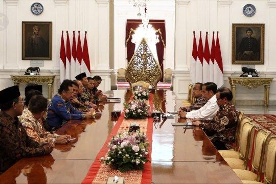 Pimpinan MPR temui Presiden Jokowi matangkan rencana pelantikan