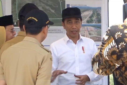Presiden pastikan pembangunan huntap di Palu segera selesai