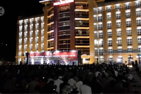 TNI, Polri dan warga Jateng doakan pelantikan Presiden lancar