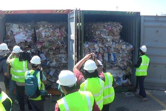 Indonesia kirim balik 584 kontainer limbah plastik dari luar negeri
