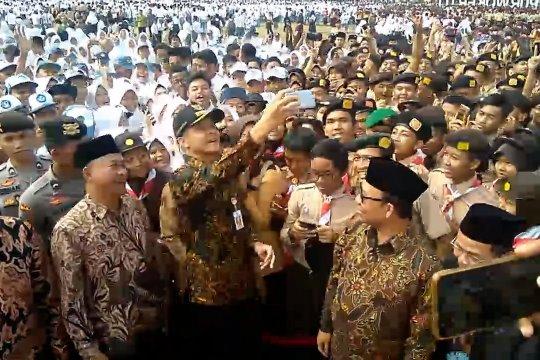 Gubernur Jateng pimpin Apel Kebangsaan Pelajar Banyumas