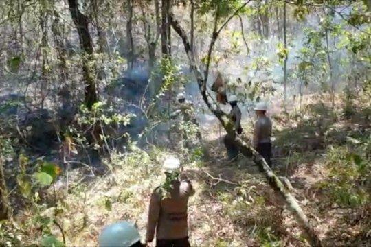 Polda NTB lokalisasi Rinjani untuk cegah kebakaran meluas