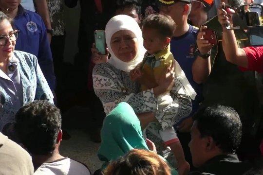 Ratusan warga dari Wamena tiba di Malang