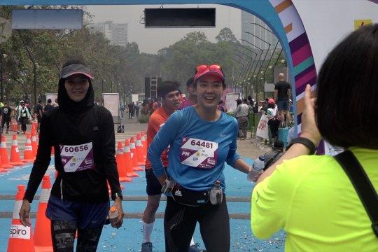 Warga lokal dan mancanegara ramaikan Electric Jakarta Marathon