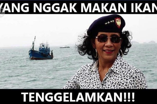 Terima kasih Ibu Susi – Pemilik jargon 'Tenggelamkan!' yang ikut tenggelam