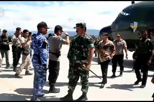Mendagri, Panglima TNI dan Plt Kapolri tinjau kesiapan Wamena