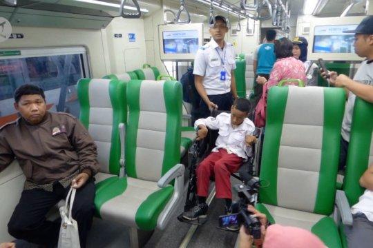 Mengenal kereta api bagi siswa berkebutuhan khusus