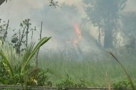 Pemadaman titik api difokuskan di Ogan Komering Ilir