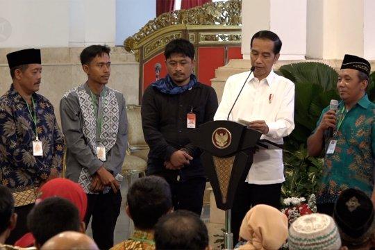 Presiden bahas hambatan perhutanan sosial bersama para petani
