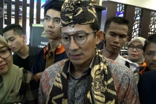 Sandiaga ajak masyarakat beri kesempatan Kabinet Indonesia Maju bekerja