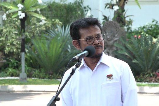 Syahrul Yasin Limpo diminta Jokowi tangani pertanian