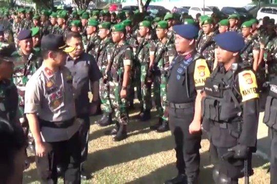 TNI-Polri di Sultra Apel Gelar Pasukan