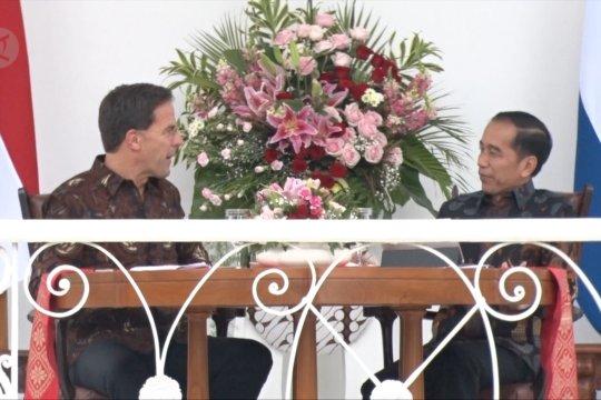 Jokowi ajak PM Belanda kerja sama bidang vokasi, perdagangan dan investasi