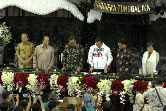 Bambang Soesatyo pantau gladi bersih pelantikan Presiden RI