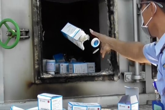 BBPOM Semarang musnahkan obat kadaluarsa