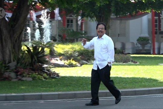 Jajaran menteri petahana  lanjutkan PR di kabinet Jokowi-Ma'ruf Amien