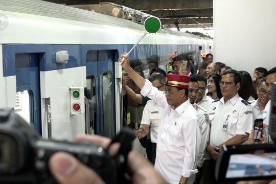 Kereta Bandara kini sudah beroperasi dari Stasiun Manggarai