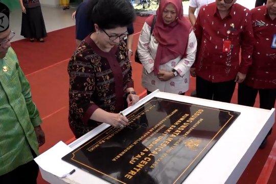 Menkes resmikan gedung baru RS Undata Palu