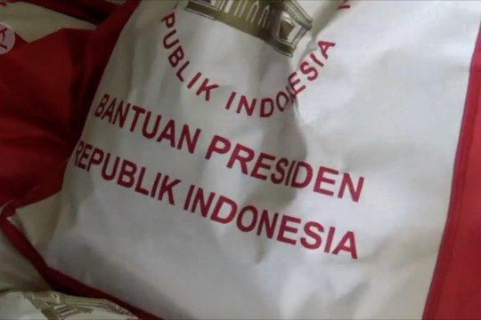 11 ton sembako bantuan Presiden untuk pengungsi Wamena tiba