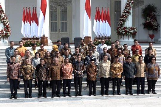 Ketua MPR nilai susunan Kabinet Indonesia Maju ideal