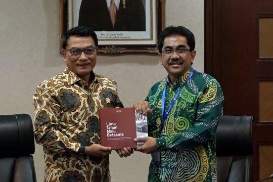 Moeldoko rangkum 5 tahun kinerja Jokowi –JK