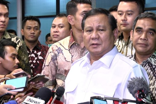 Prabowo: Saya mengutuk radikalisme