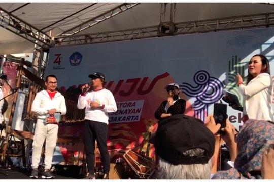 Sosialisasi Pekan Kebudayaan Nasional di CFD Senayan