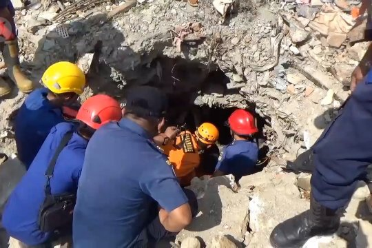 Tujuh jasad korban gempa Palu kembali ditemukan