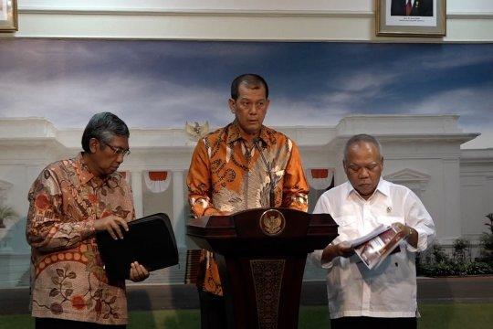 BNPB laporkan progres penanganan bencana ke presiden