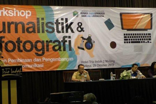 Diskominfo Kota Malang bekali KIM ilmu jurnalistik