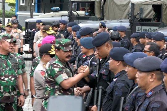 Kerahkan pemantauan udara, Panglima TNI pastikan keamanan