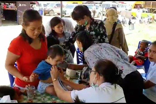 Pengungsi asal Wamena di Jayapura mulai terserang ISPA