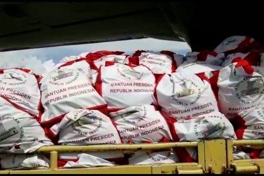 Presiden Jokowi kirimkan  bantuan  untuk Wamena