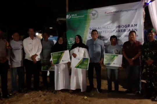 Ratusan pemulung di Batam terdaftar jaminan sosial ketenagakerjaan