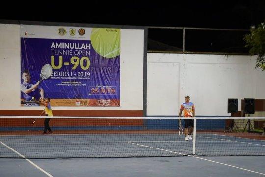 Turnamen tenis jaring atlet PON 2020