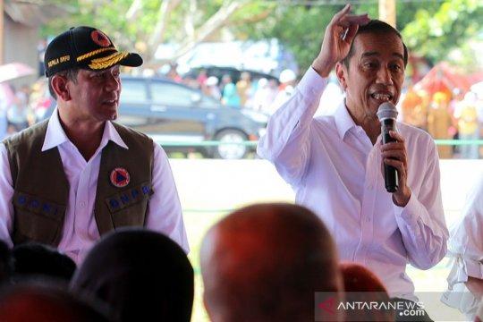Di Maluku Presiden Ingatkan Indonesia rawan bencana