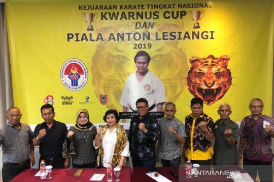 PB Lemkari gelar kejurnas karate pertama di Bandung