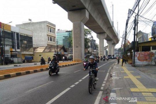 Jumlah pengguna sepeda di Jaksel meningkat lima kali lipat
